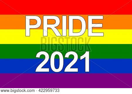The Lgbt Pride Flag Or Rainbow Pride Flag Includes The Flag Of The Lesbian, Gay, Bisexual, And Trans