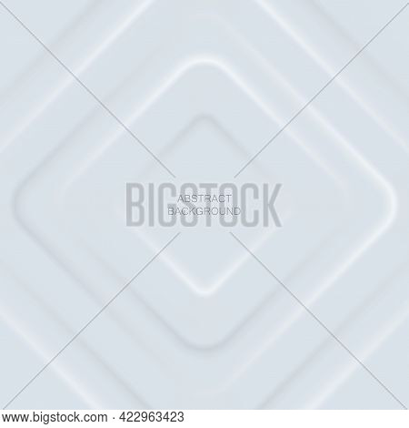 Abstract White Rhonbus Layers On White Background.for Business Flyers Template, Book Covers And Mate