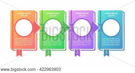 Educational Program Vector Infographic Template. Learning Progress Presentation Design Elements With