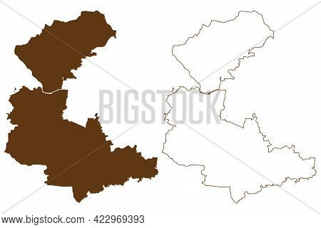 Anhalt-bitterfeld District (federal Republic Of Germany, Rural District, Free State Of Saxony-anhalt