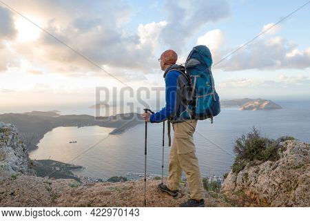Beautiful nature landscapes in Turkey mountains.  Lycian way is famous among  hikers.