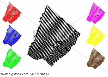 Clarke County, Commonwealth Of Virginia (u.s. County, United States Of America, Usa, U.s., Us) Map V