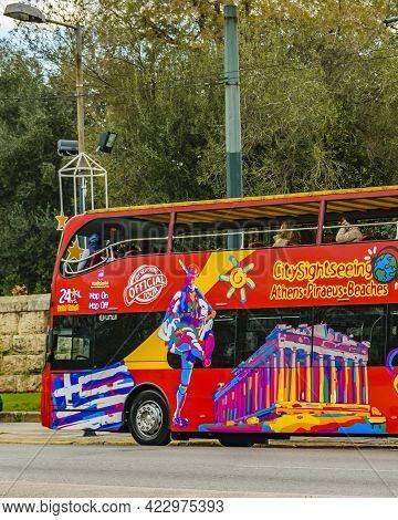 City Tour Bus, Athens, Greece