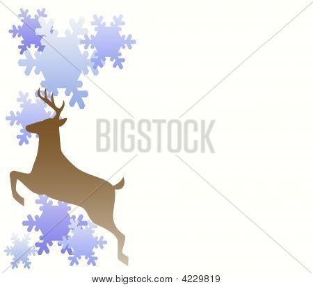 Reindeer Snowflakes