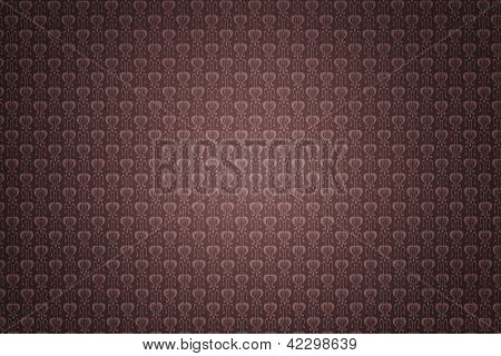 Retro Tapete rotbraun Textur Hintergrund