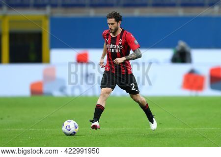 Milano, Italy. 16 May  2021. Davide Calabria Of Ac Milan  During The Serie A Match Between Ac Milan