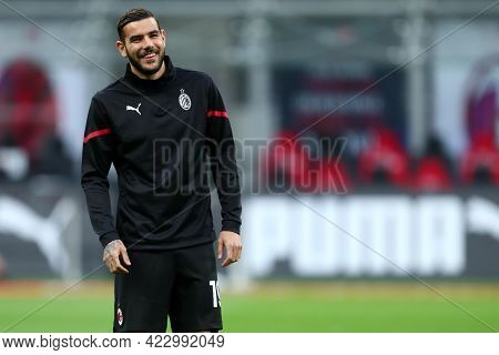 Milano, Italy. 16 May  2021. Theo Hernandez Of Ac Milan  During The Serie A Match Between Ac Milan A