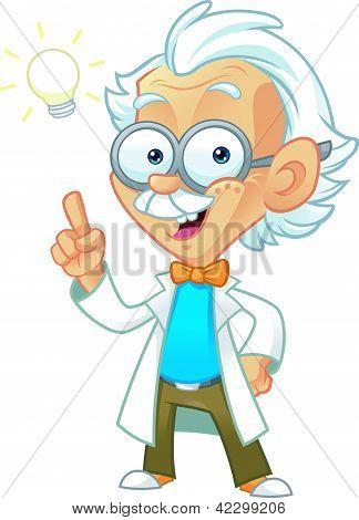 Genius Professor With Bright Ideas