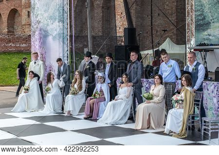 The Opening Of The Wedding Season, Wedding In The Style Of The Tv Show Bridgerton