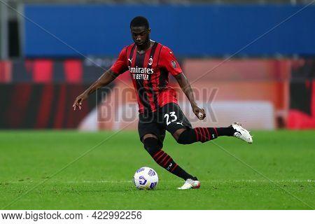 Milano, Italy. 16 May  2021. Fikayo Tomori Of Ac Milan  During The Serie A Match Between Ac Milan An