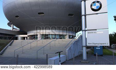 Bmw Museum At Bmw Headquarter In Munich - City Of Munich, Germany - June 03, 2021