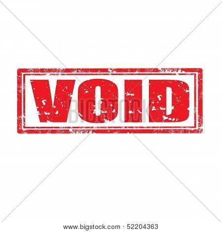 Void-stamp