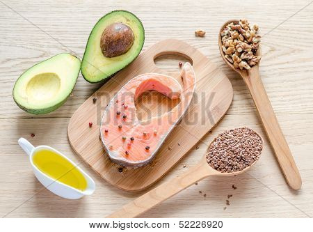 Food With Unsaturated Fats