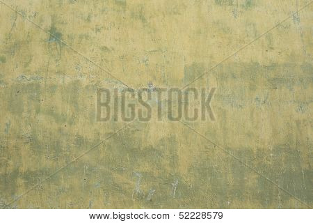 Rusted plaster wall texture  discolored