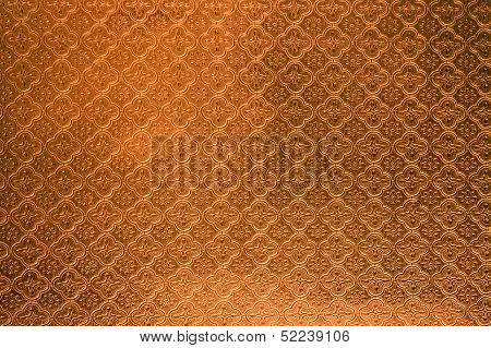 Orange Tiled Glass