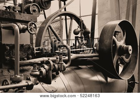 historic steam engine