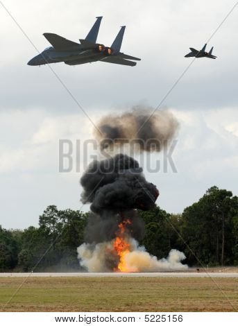 Jetfighters In Action