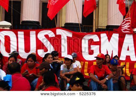 Oust Gma (president Gloria Macapagal Arroyo)