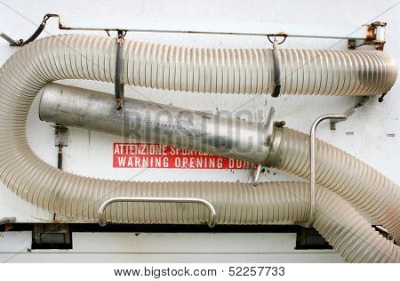 Hose for vacuum suction