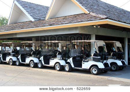 Golf Cart Parking