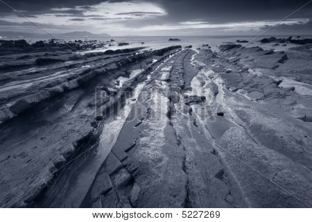 Beach Of Barrika