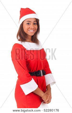 Portrait Of Christmas African Women