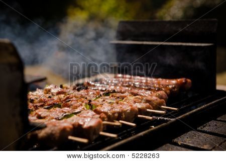 Gril Barbecue Shish-kebab