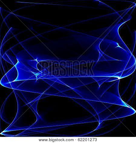 Blue Waves Background