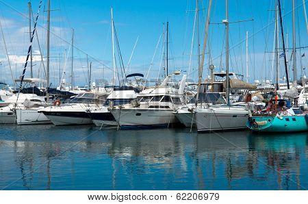 Antibes - Sail Boats