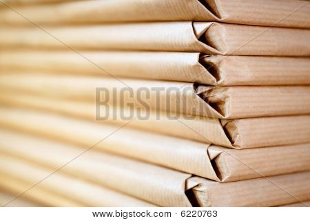 Packed Paper,  Horizontal Format
