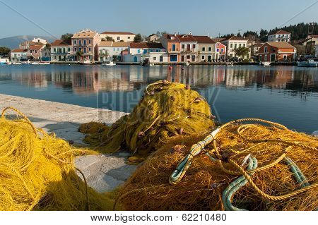 Fishing nets in Greece