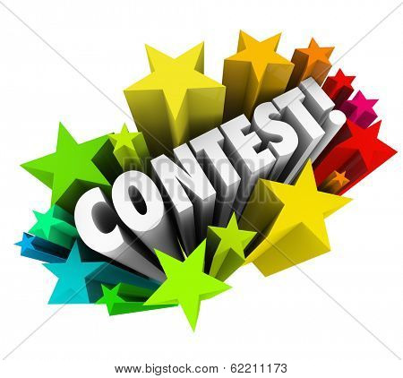 Contest Word Raffle Drawing Jackpot Prize