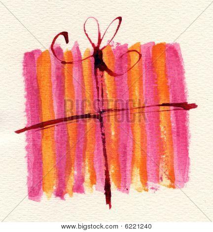 Gift Box Doodle