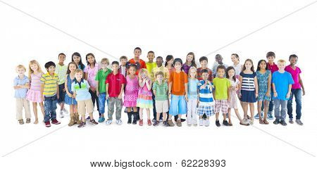 Large Group of Children