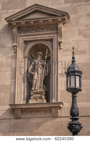 Saint Hieronymus sculpture