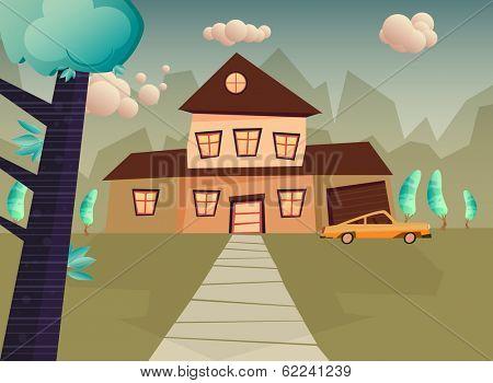 cartoom house