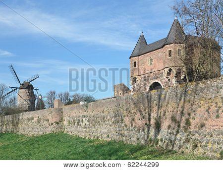 Zons,Dormagen,Rhine River,Germany