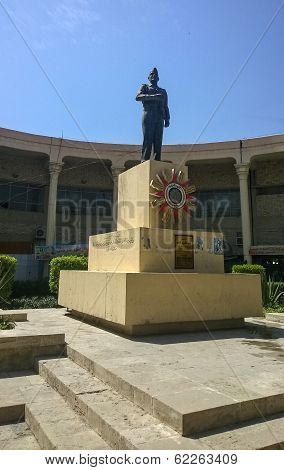 Statue of Abdul Karim Qasim