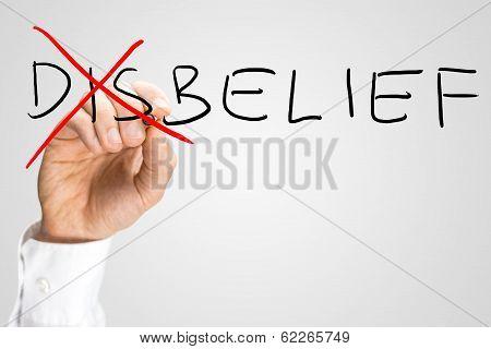 Disbelief - Belief, A Concept Of Opposites