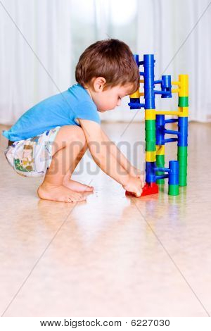 Child Play With Toys