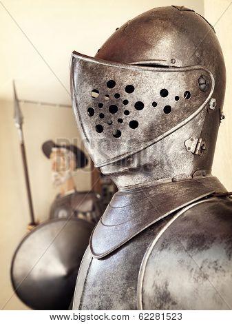 Quixote And Armor Knight