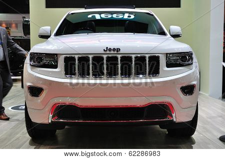 Nonthaburi - March 25: New Jeep Grand Cherokee On Display At The 35Th Bangkok International Motor Sh