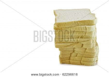 Slices Of Bread In Stack
