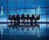 Hong Kong Business Meeting poster