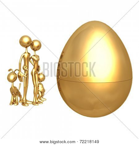 Gold Family Nest Egg