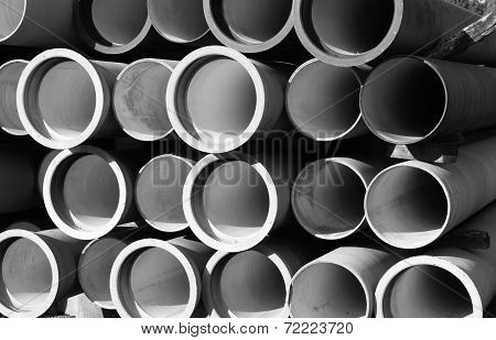 Tubes For Waterworks And Sewer System Of The City