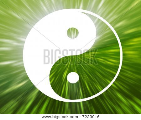 Yin Yang símbolo