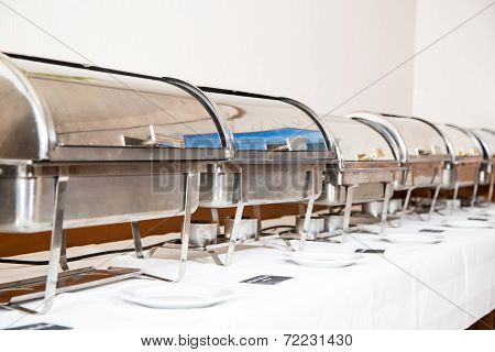 Table Prepared By Catering Service