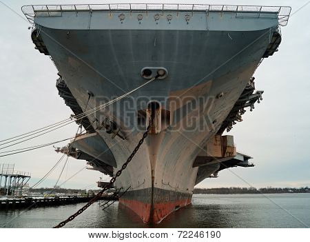 Aircraft Carrier Front View