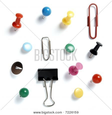 Pushpins Collection Office Business